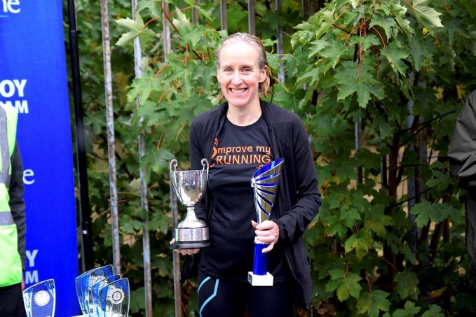 Jo Newens winner Tooting Bec race 2019