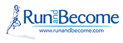 Run and Become logo 250x89